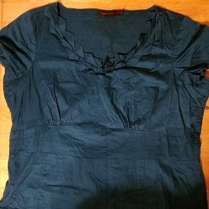 Limited teal xl blouse